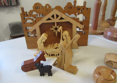 Nativity Scene for grand daughters - Graham Reed