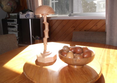 wigstand & easter eggs