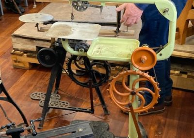 Fred - vintage scroll saw