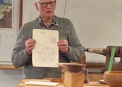 Roger - designs using carbon paper