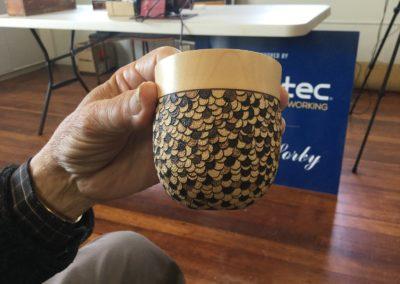 Prize winning thin walled pot
